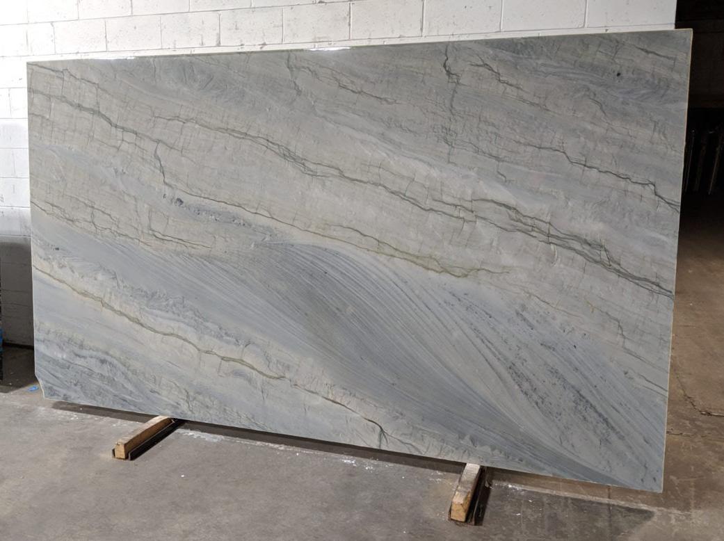Elegant Grey Quartzite Slab Italy Polished Quartzite Slabs