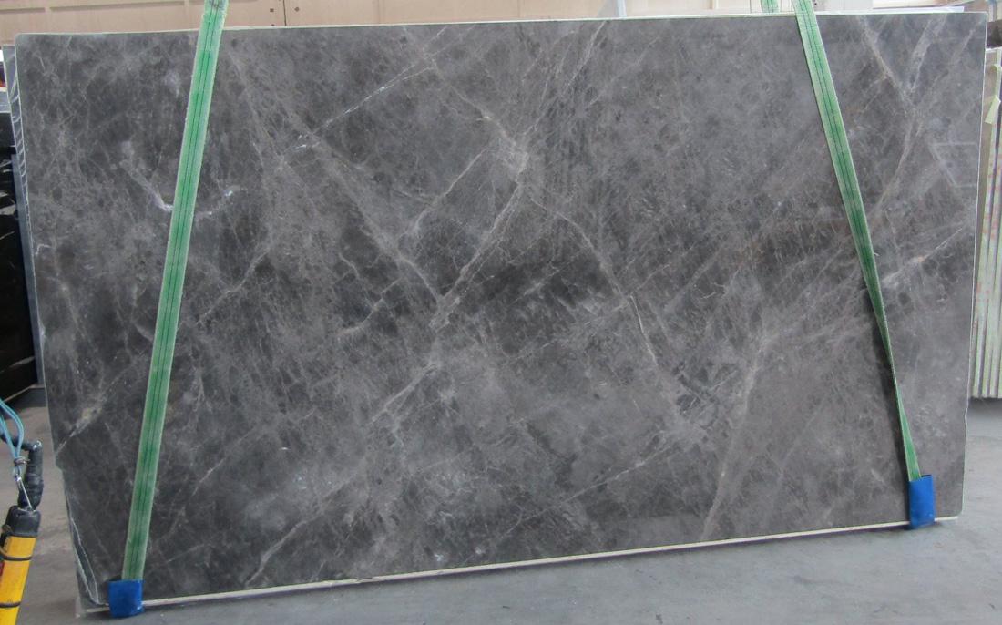 Elegant Grey Slabs Turkish Grey Marble Polished Slabs