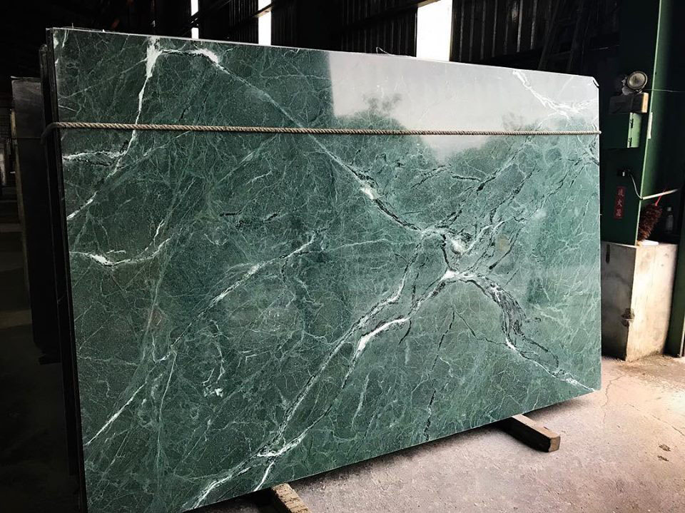 Emerald Green Marble Slab Polished Indian Marble