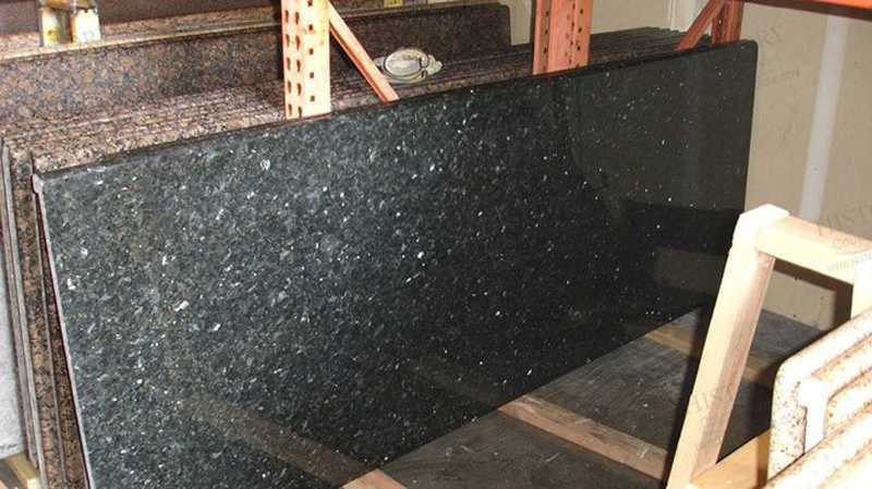 Emerald Pearl Granite Countertops for Kitchen