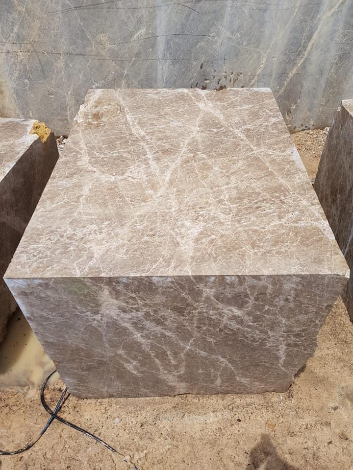 Emperador Brown Marble Blocks