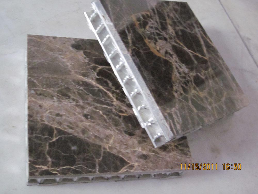 Emperador Dark Brown Marble with Aluminium Honeycomb