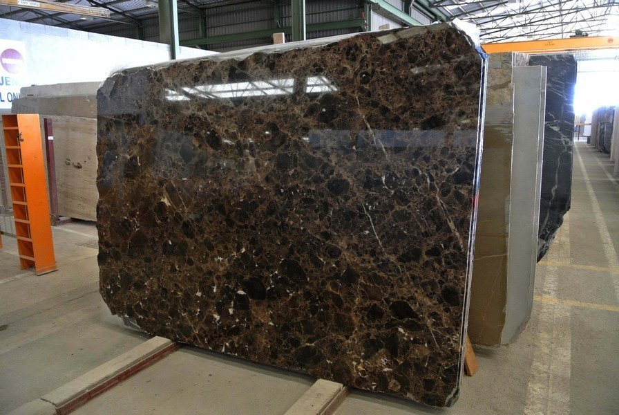Emperador Dark Polished Brown Marble Slabs Spanish Marble with Top Quality