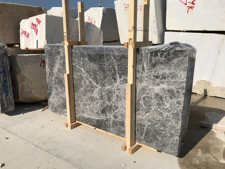Emperador Dark Slab Gray Natural Marble Slabs