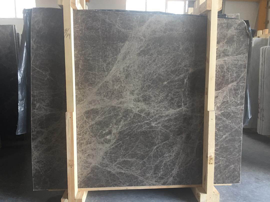 Emperador Grey Marble Slabs Polished Grey Marble Slabs