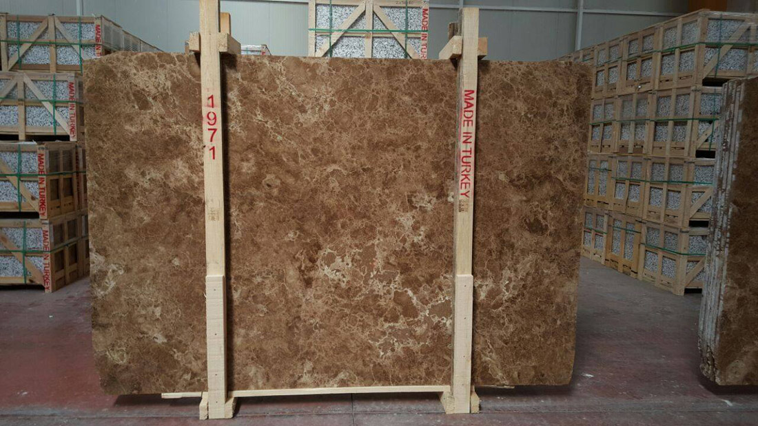 Emperador Slab Brown Natural Marble Slabs