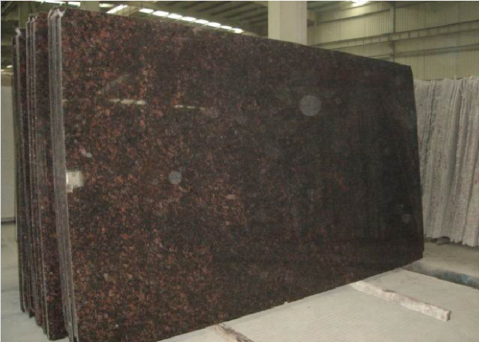 English Brown Indian Tan Brown Polished Coffee Brown Granite Slabs