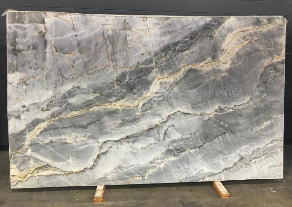 Epsilon Blue Quartzite Stone Slabs Polished Natural Quartzite Slabs