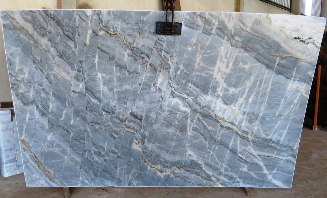 Essenza Blue Quartzite Slabs Brazil Polished Quartzite Stone Slabs