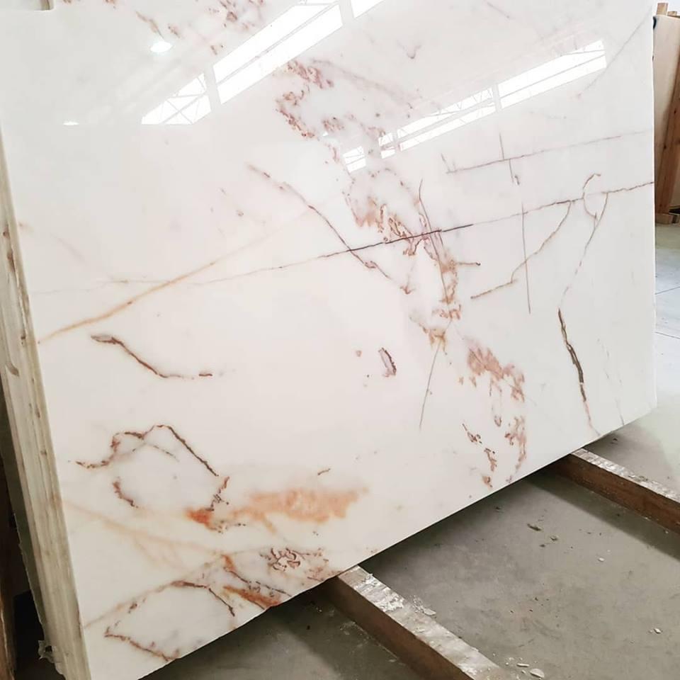 Estremoz Marble Polished Slabs White Marble Slabs