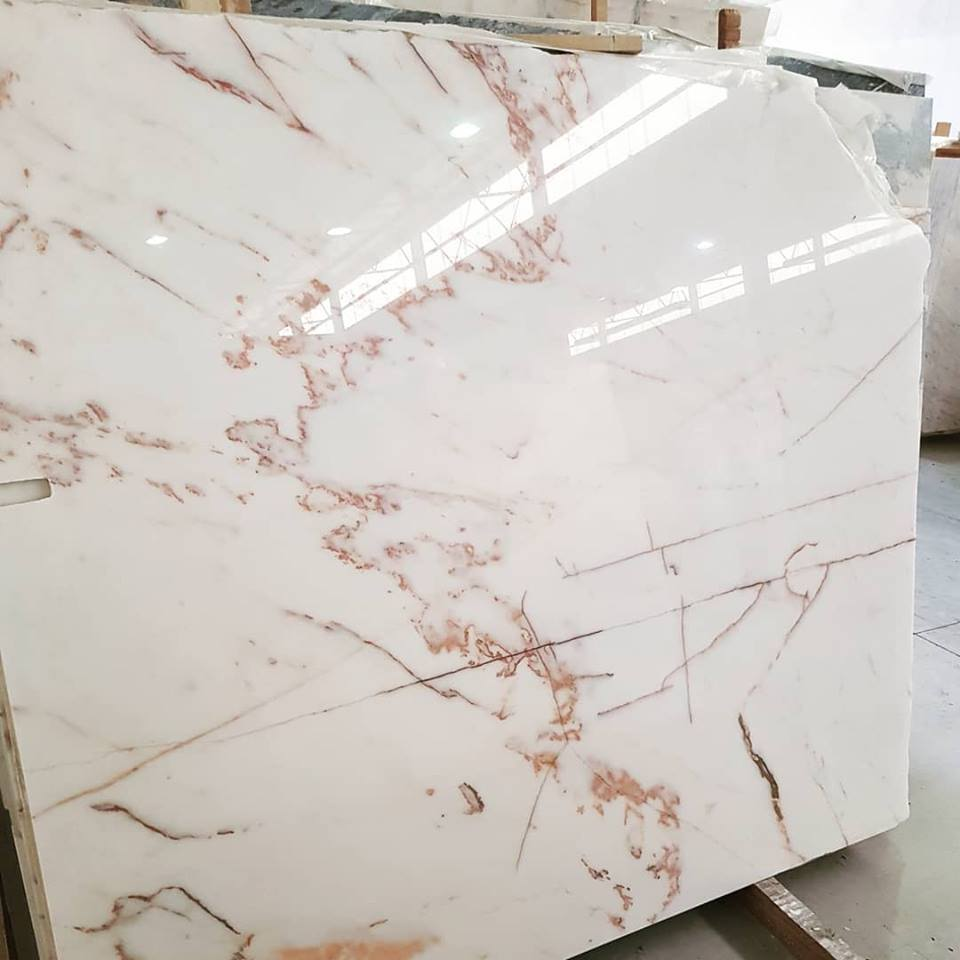 Estremoz Marble Slabs White Polished Slabs from Portugal