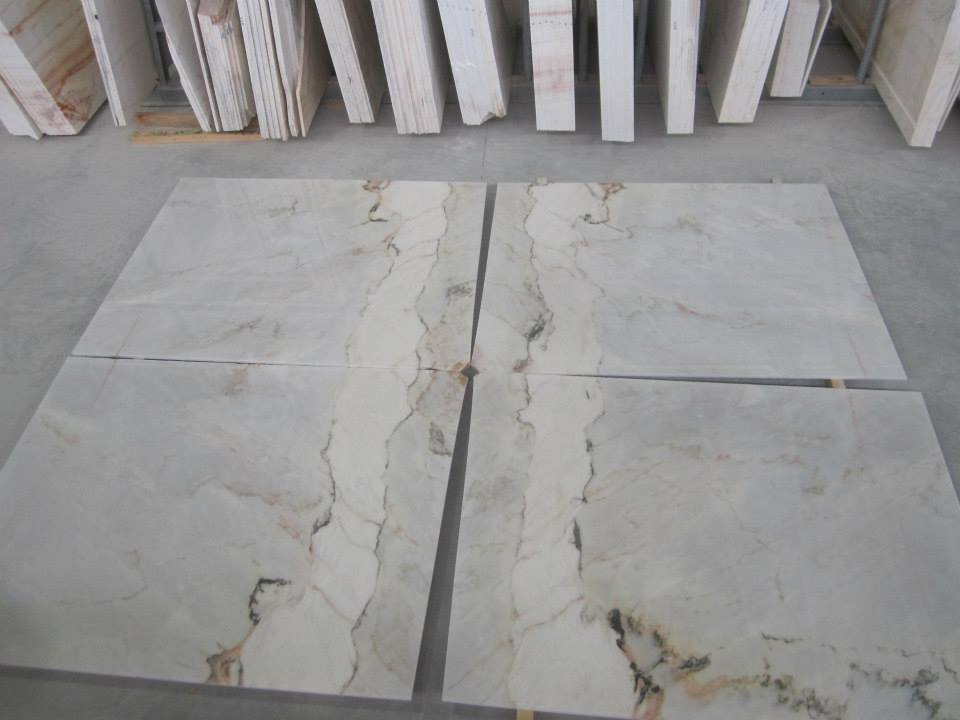Estremoz White Flooring Tiles Polished White Marble Tiles