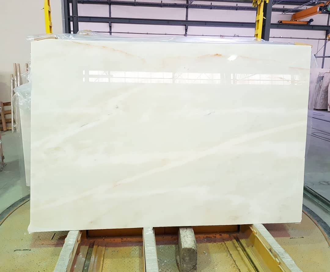 Estremoz White Polished Marble Slabs