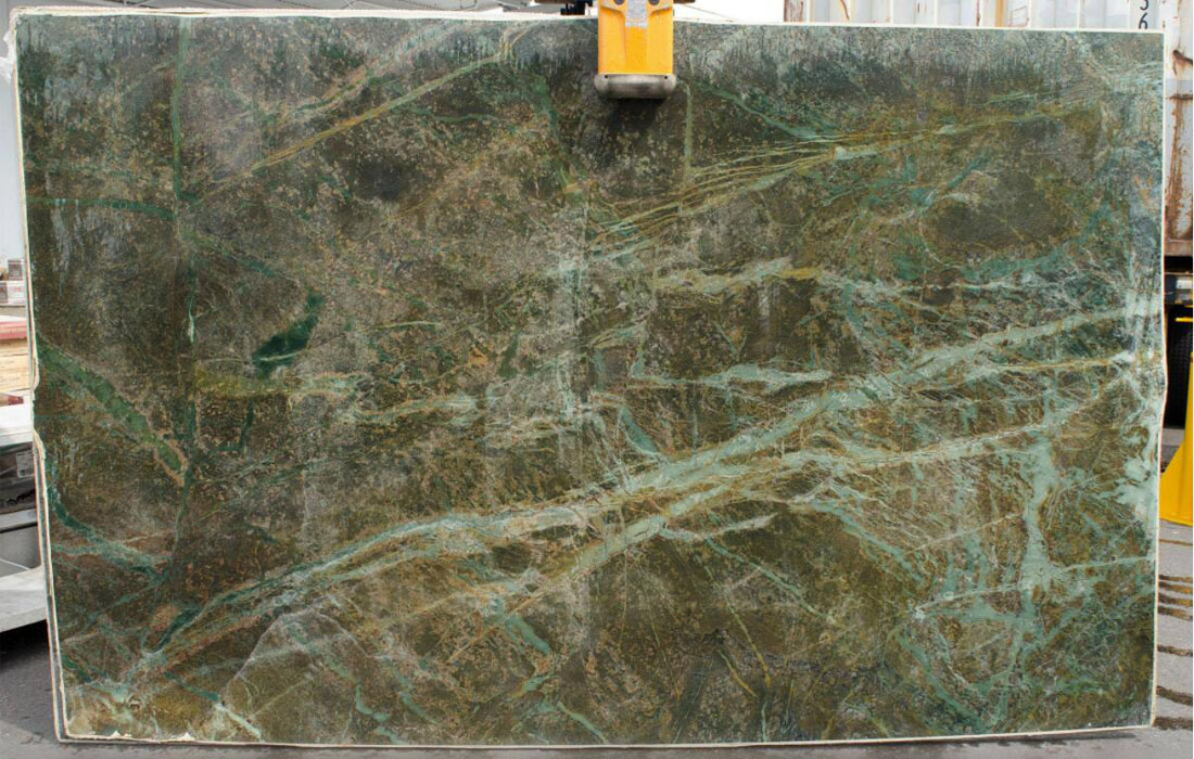 Esverdeado Brasiliano Green Quartzite Slabs from Brazil