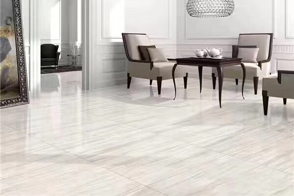 Eurasian Wood White Wood Vein Marble Floor Tiles