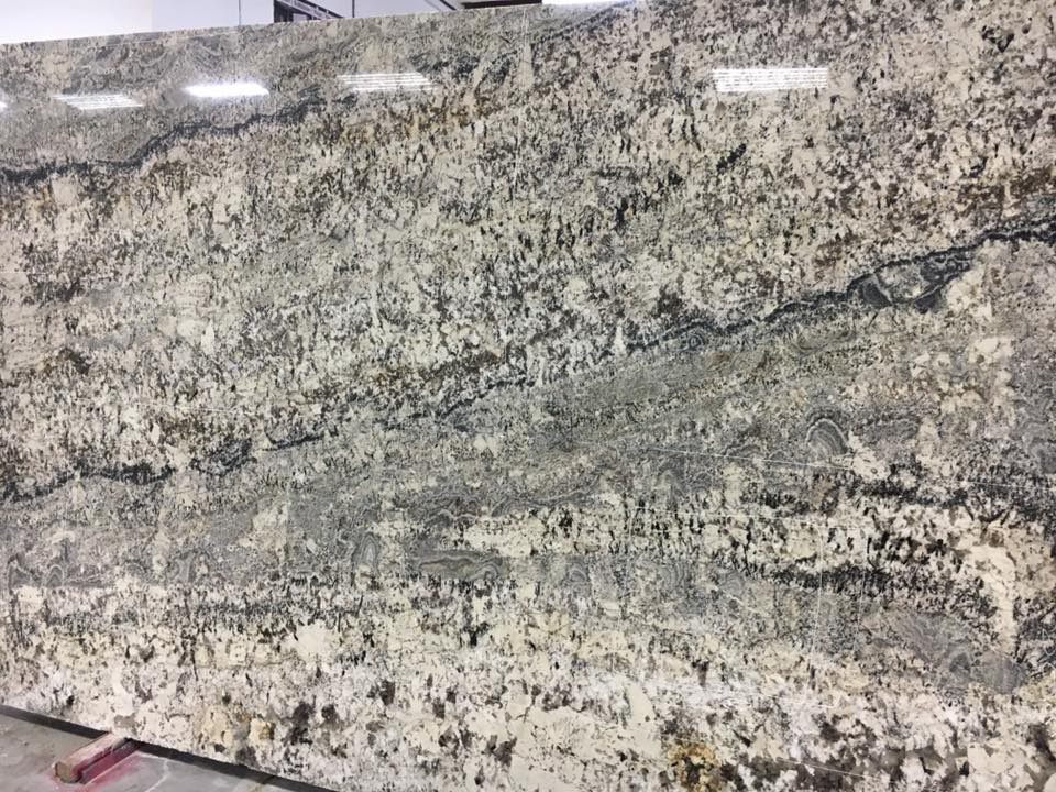 Evian White Granite Slabs Polished Granite Slabs from India