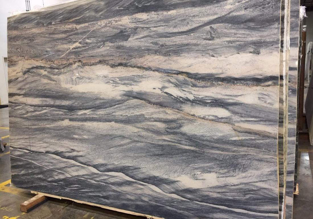 Explosion Blue Granite Slab Italian Polished Granite Stone Slabs