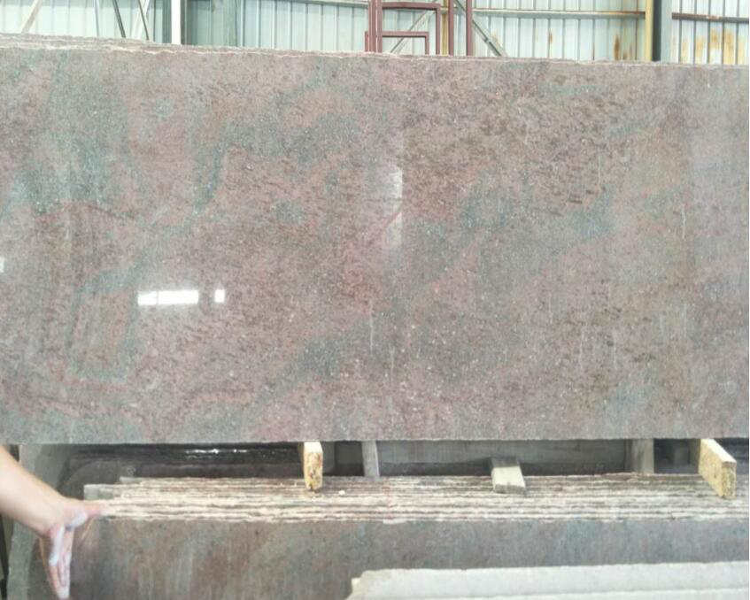 Fantacy Galaxy Granite Slabs Polished Granite Slabs for Countertops