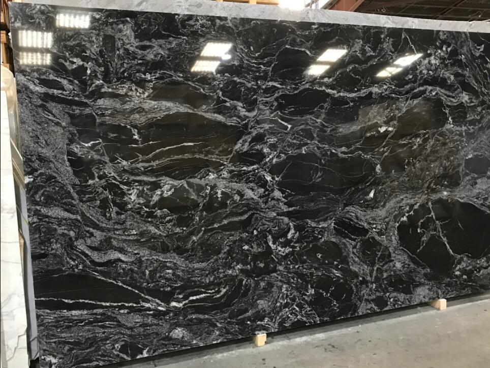 Fantastic Black Granite Slabs Polished Black Granite Stone Slabs