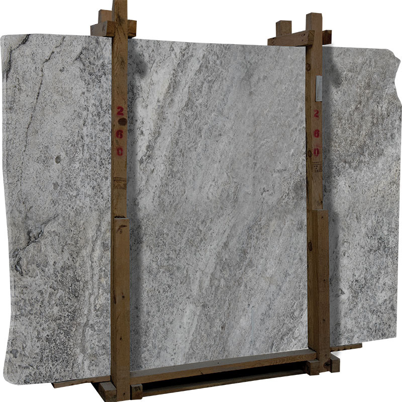 Fantastic Silver Travertine Slab