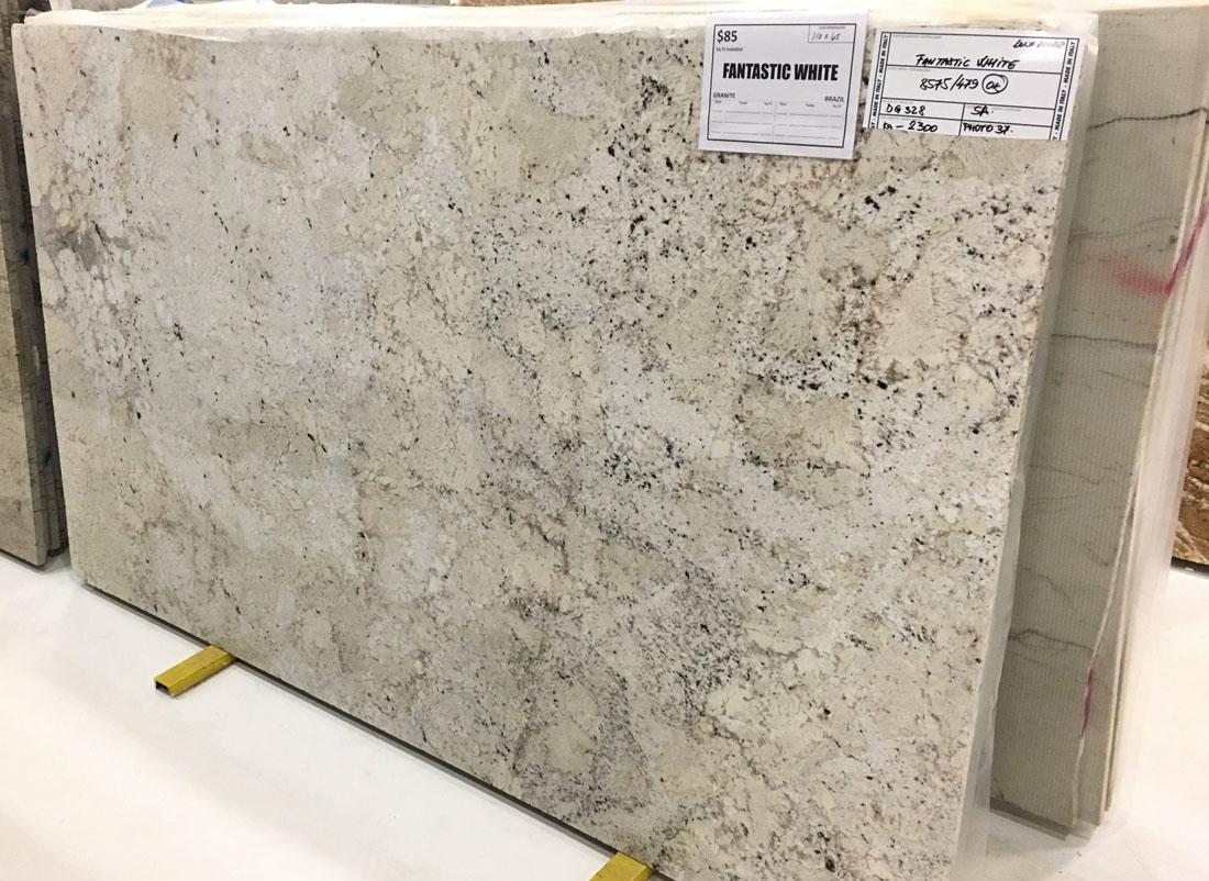 Fantastic White Granite Full Slab White Polished Granite Slabs