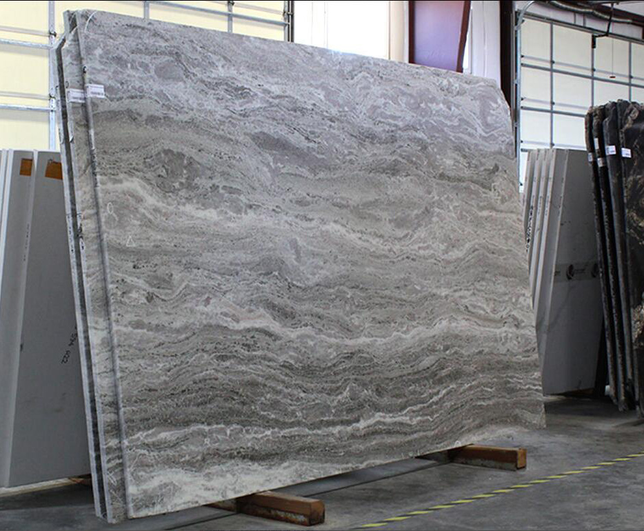 Fantasy Brown Brushed Marble Slabs Competitive Indian Marble Slabs
