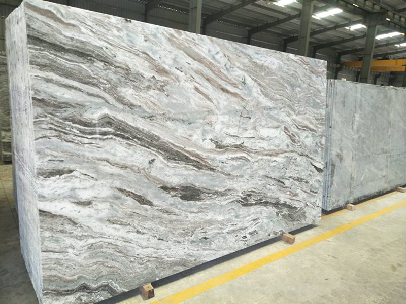 Fantasy Brown Marble Slabs from India
