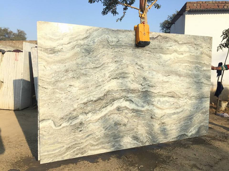 Fantasy Brown Marble Slabs with High Quality from India