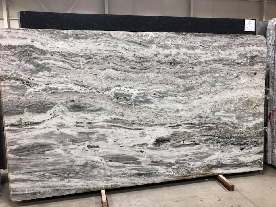 Fantasy Brown Polished Marble Slabs with High Quality