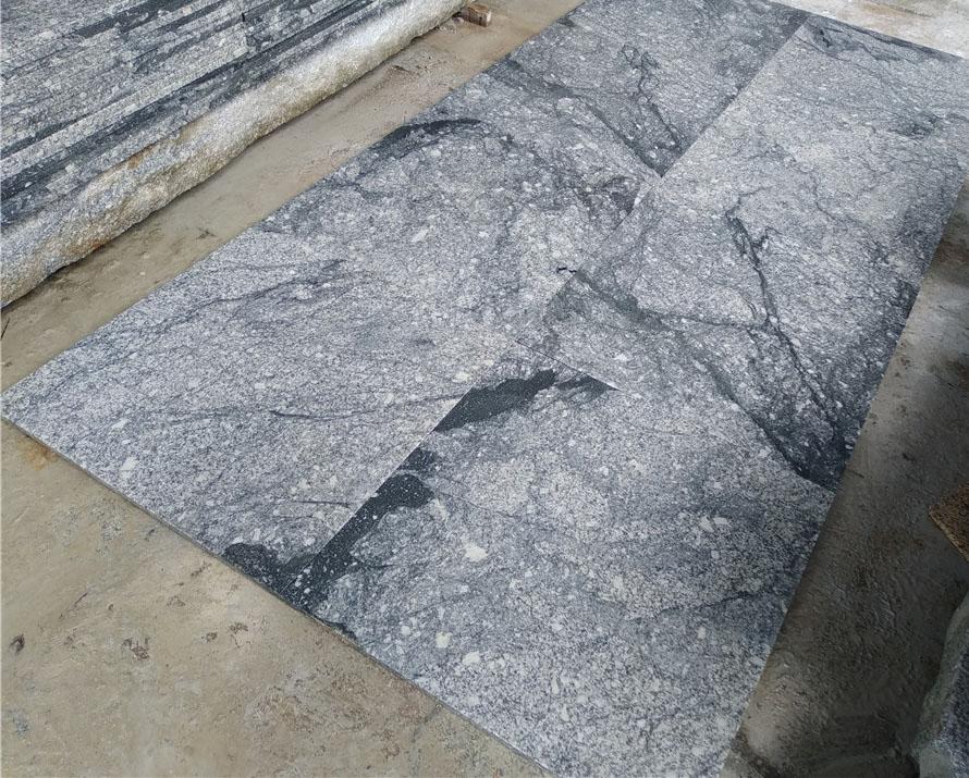 Fantasy Granite Tiles Grey Chinese Granite Flooring Tiles