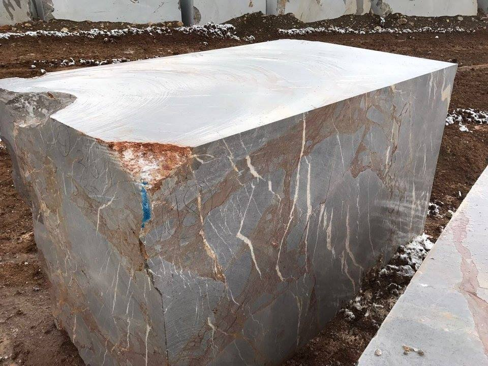 Fantasy Grey Marble Blocks