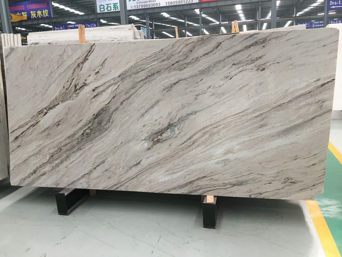 Fantasy Sand Marble Slabs Polished Marble Slabs