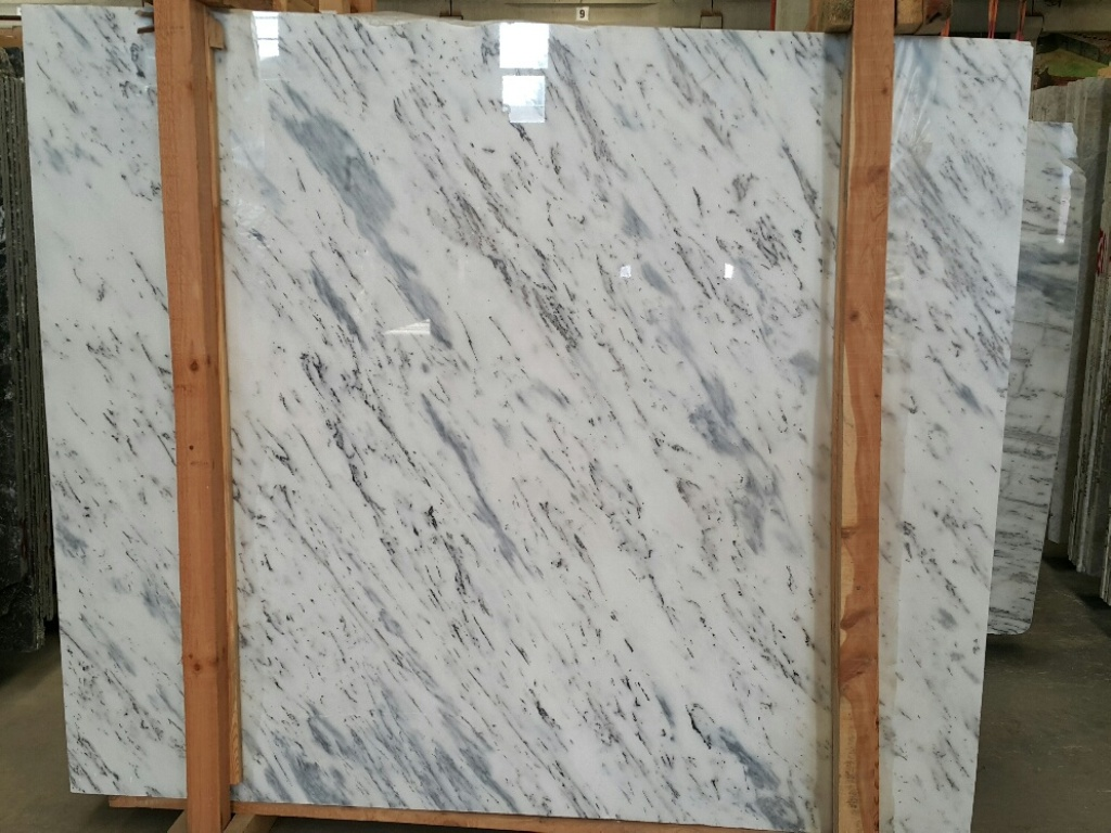 Fantasy White Marble Slabs Polished Turkish Marble Slabs