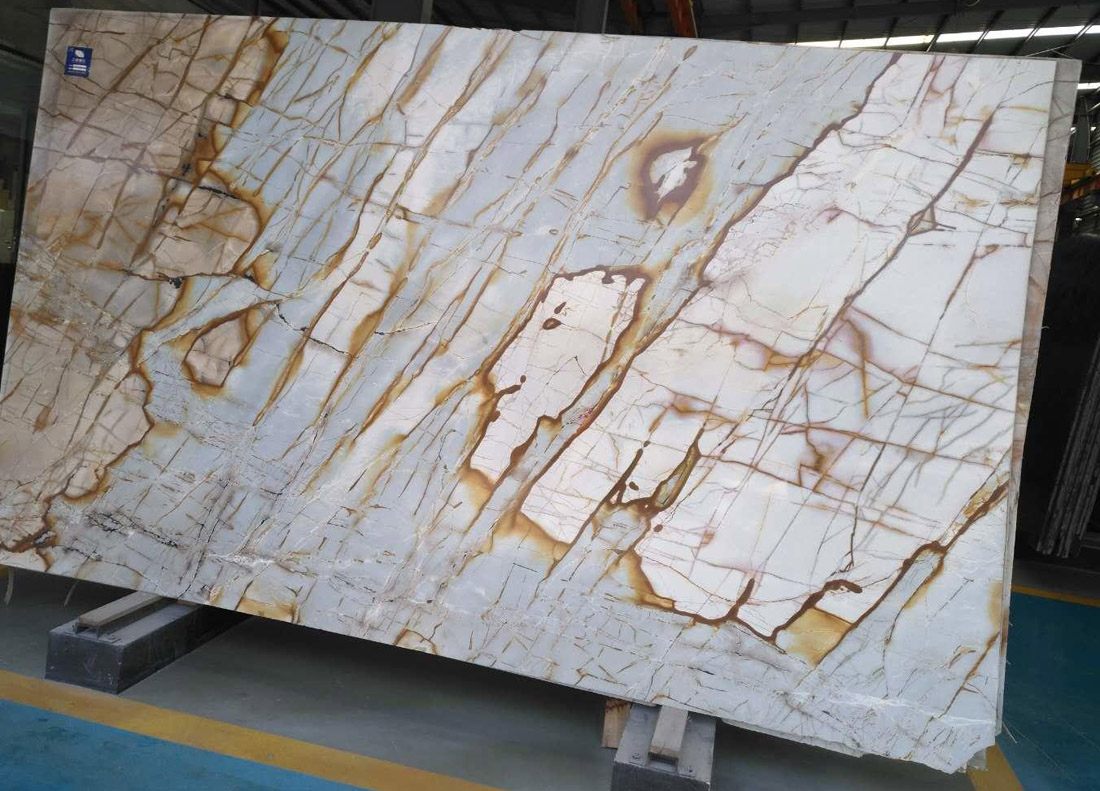 Farfalla Quartzite Stone Slabs for Kitchen Countertops