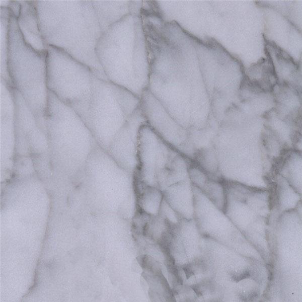 Fine Lines Snow White Marble
