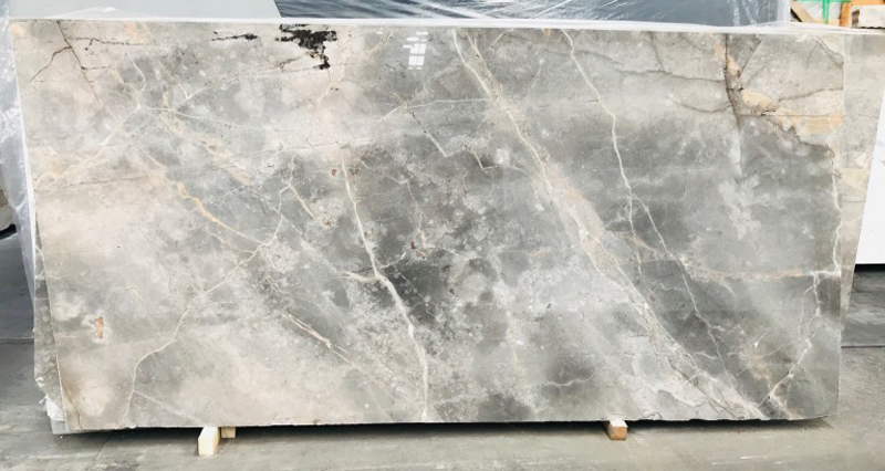 Fiori Di Bosco Polished Grey Marble Stone Slabs