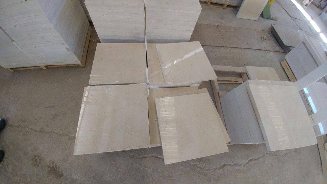 Floor Tiles Polisched Beige Marble Tiles