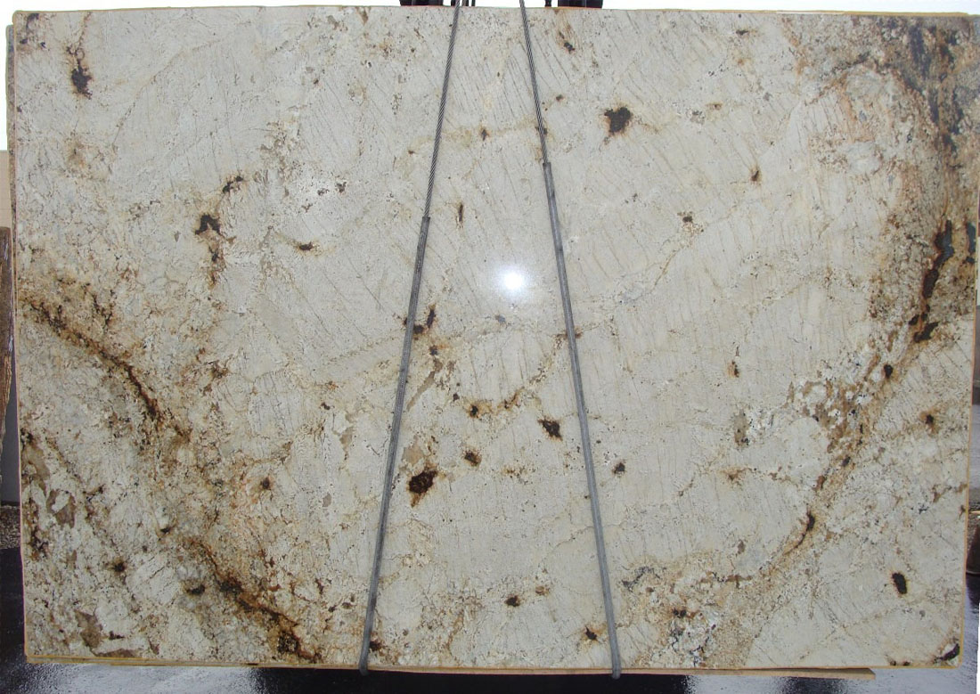 Focaccia Granite Polished Beige Granite Slabs