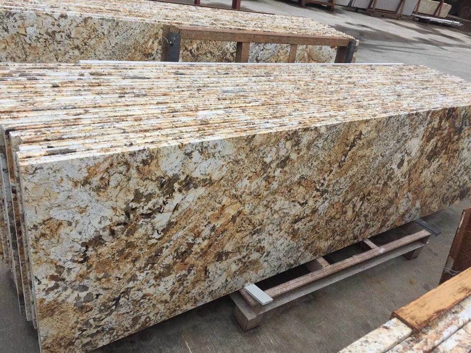 Forest Gold Granite Slabs Beige Indian Granite Slabs