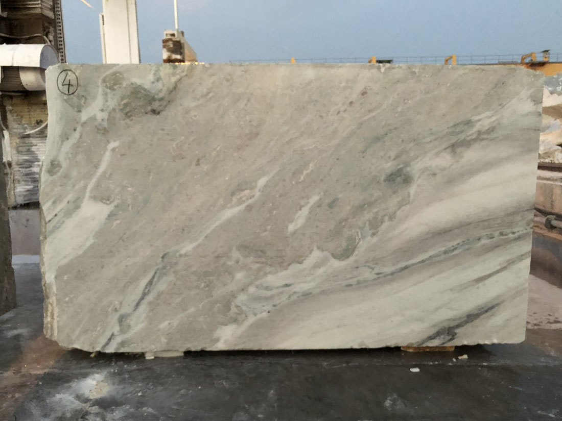 Frozen White Marble Indian Marble Blocks