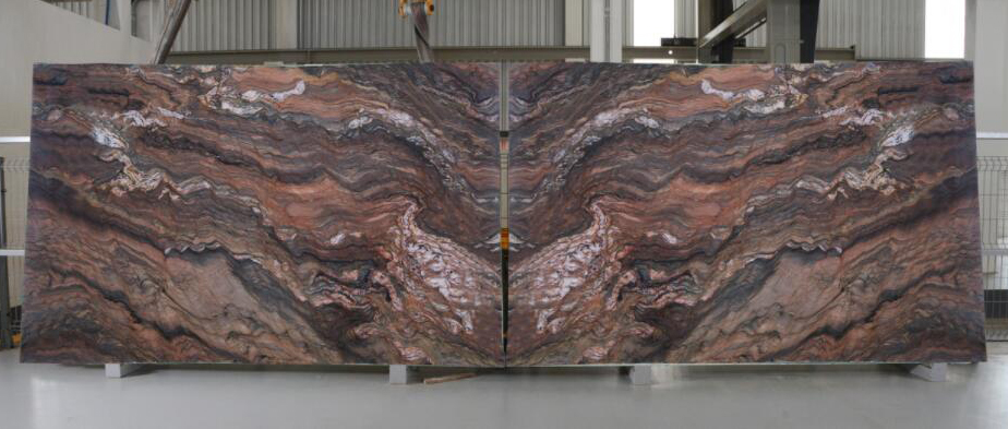 Fusion Brown Quartzite Stone Slabs Brazil Quartzite Slabs
