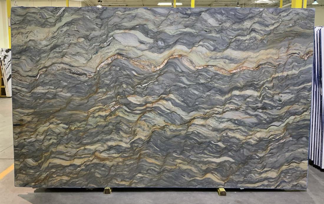 Fusion Quartzite Slabs Polished Quartzite Slabs for Countertops