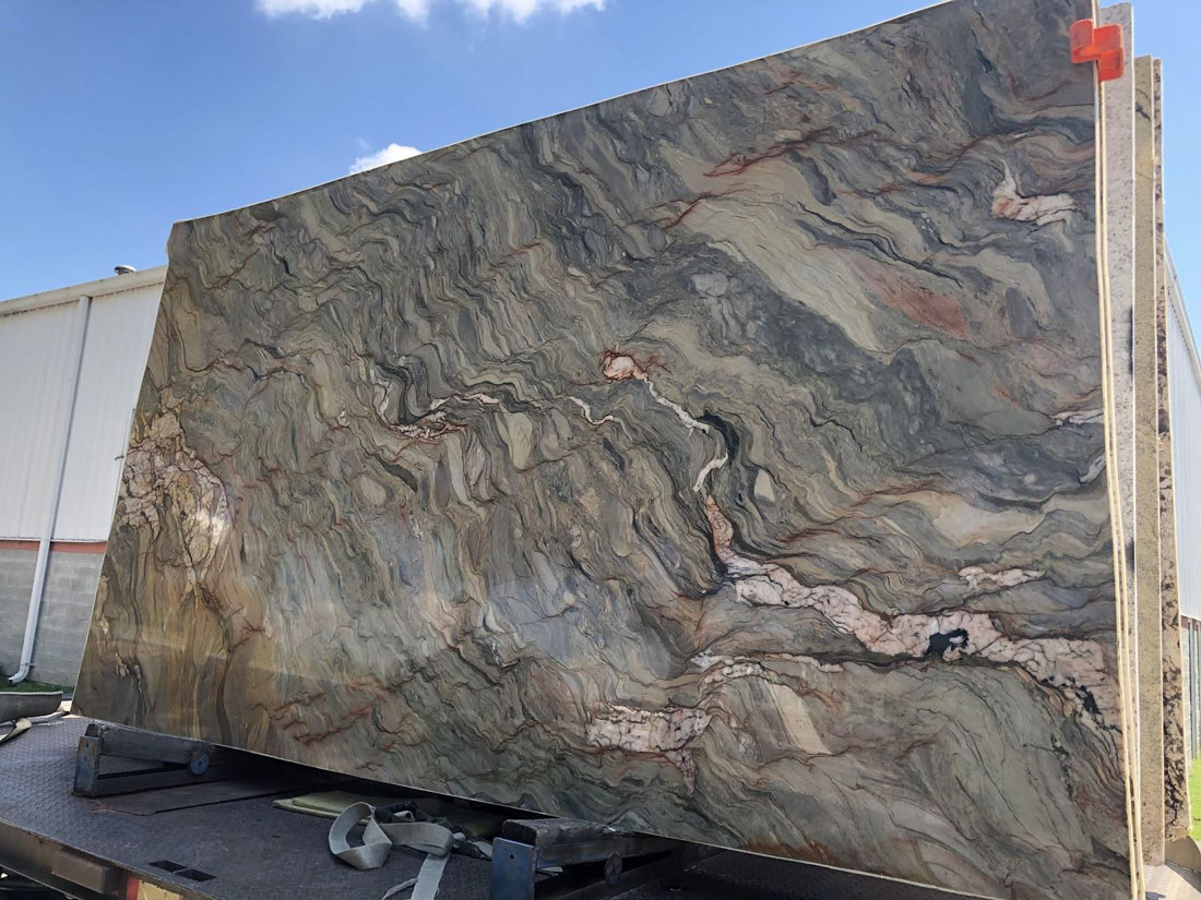 Fusion Quartzite Slabs from Brazil