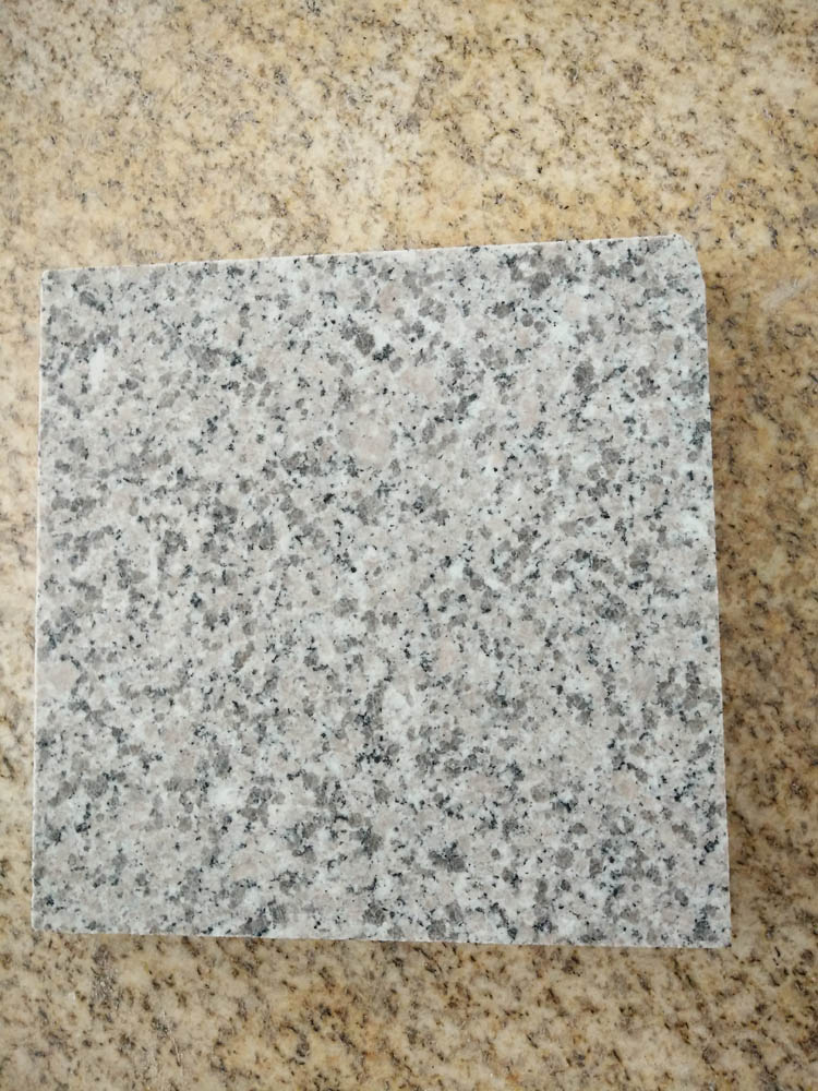 G364 Cherry Blossom Red Granite Cube Stone