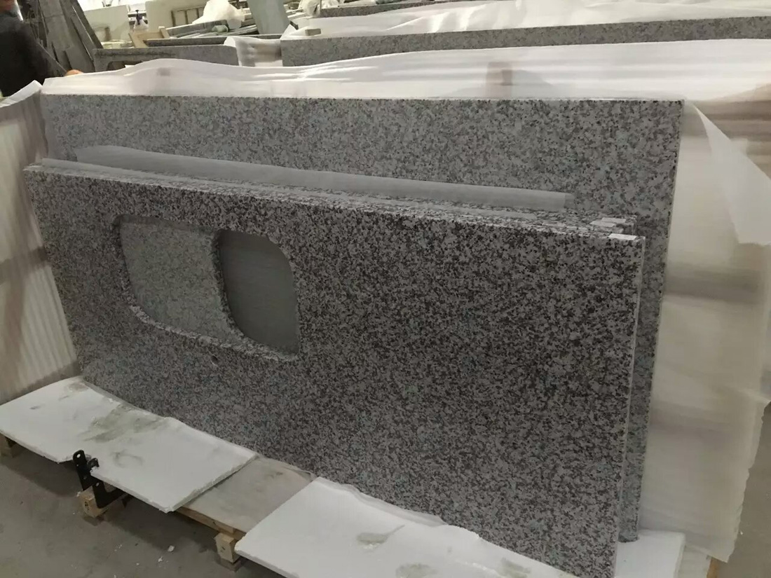 G439 Beta White Gray Granite Countertops