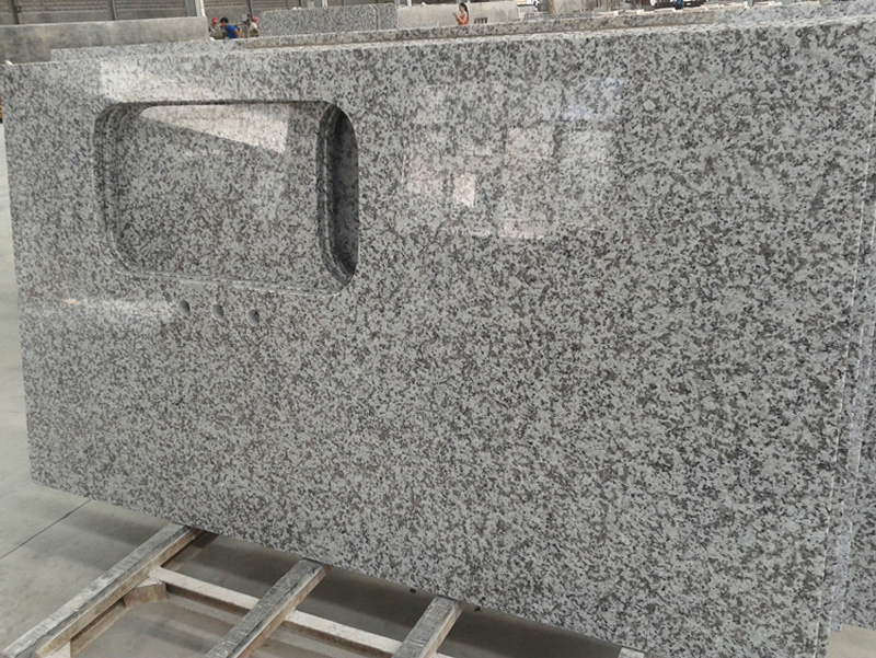 G439 Chinese Polished Grey Granite Kitchen Countertop
