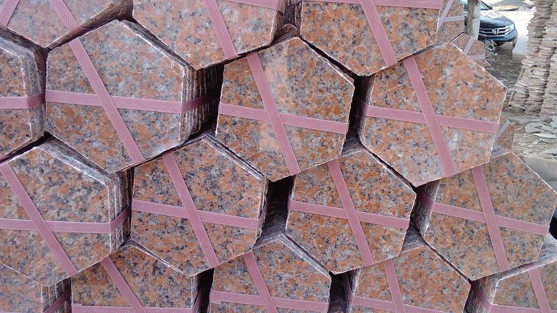 G562 Granite Paving Stone Red Granite Paving Stone