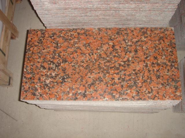 G562 Granite Tiles Red Polished Granite Tiles