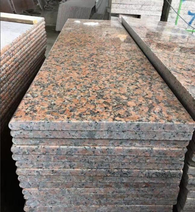 G562 Red Granite Stairs