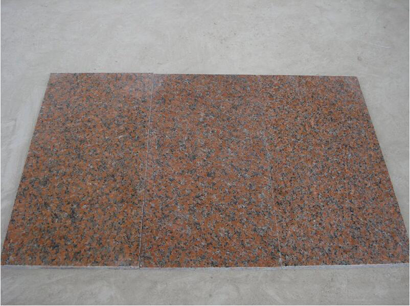 G562 Tile Chinese Red Polished Granite Tiles